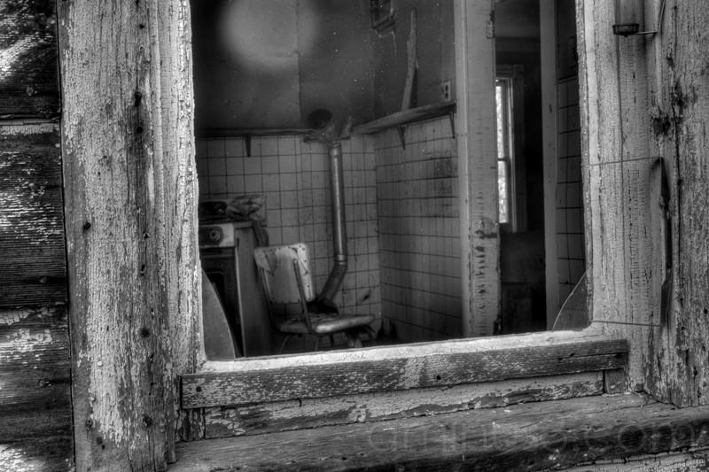 HDR, Abandoned, house, Saskatchewan