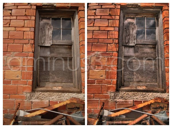 Window, abandoned Dafoe Saskatchewan