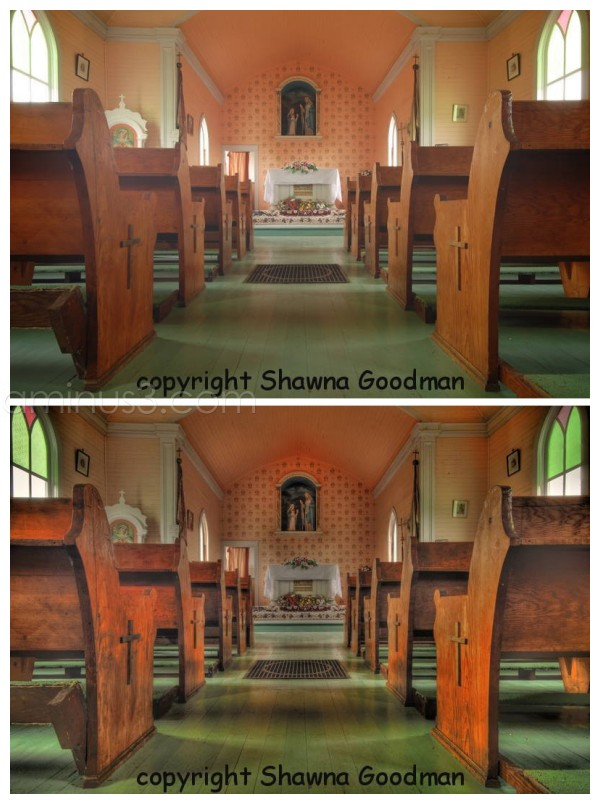 HDR, church, Saskatchewan