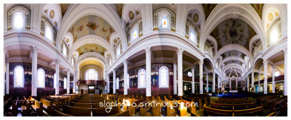 Gravelbourg Cathedral pano