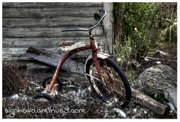 Wolsley Saskatchewan  tricycle