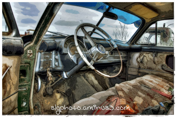 Wolsley Saskatchewan Car Interior