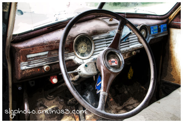 Wolsley Saskatchewan Car Interior