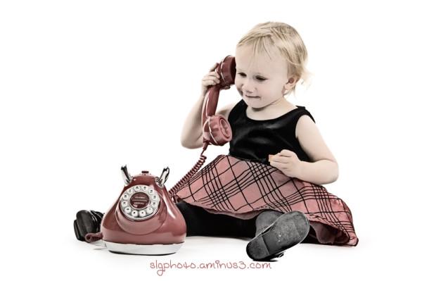 Amy Telephone Red  studio Highkey