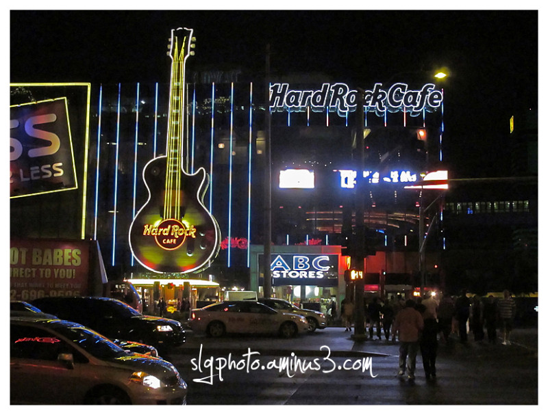 Las Vegas Neon Hard Rock Cafe