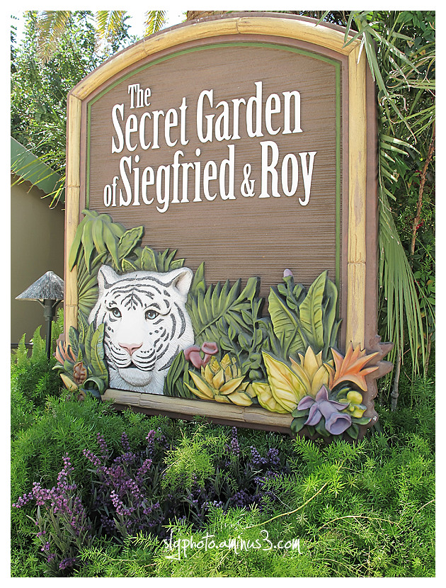 Las Vegas Secret Garden at the Mirage