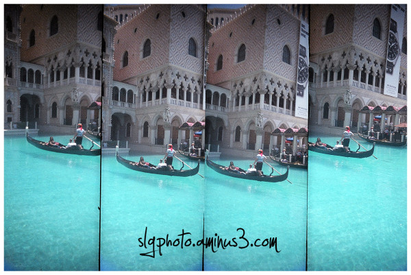 Las Vegas supersampler toy camera the Venetian