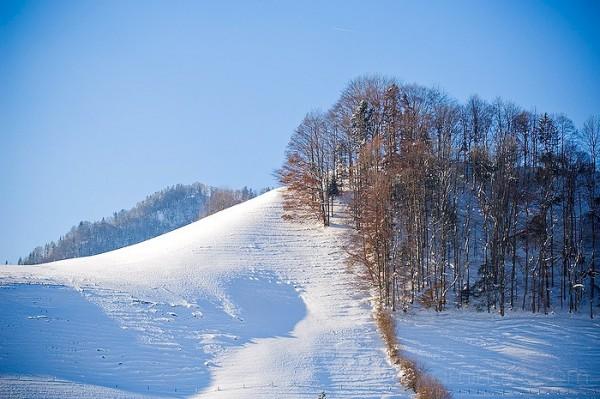Switzerland in the snow by Benno White