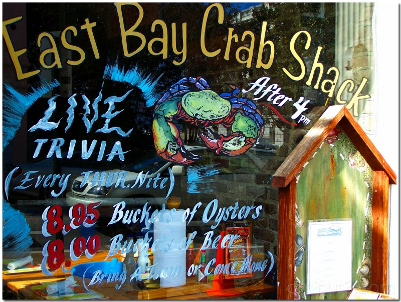 Crab Shack Window