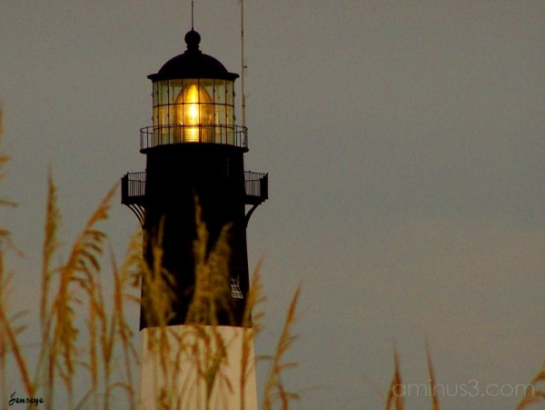 Tybee Island Lighthouse Closeup