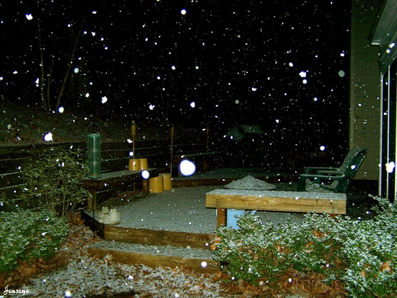 Snow in Georgia