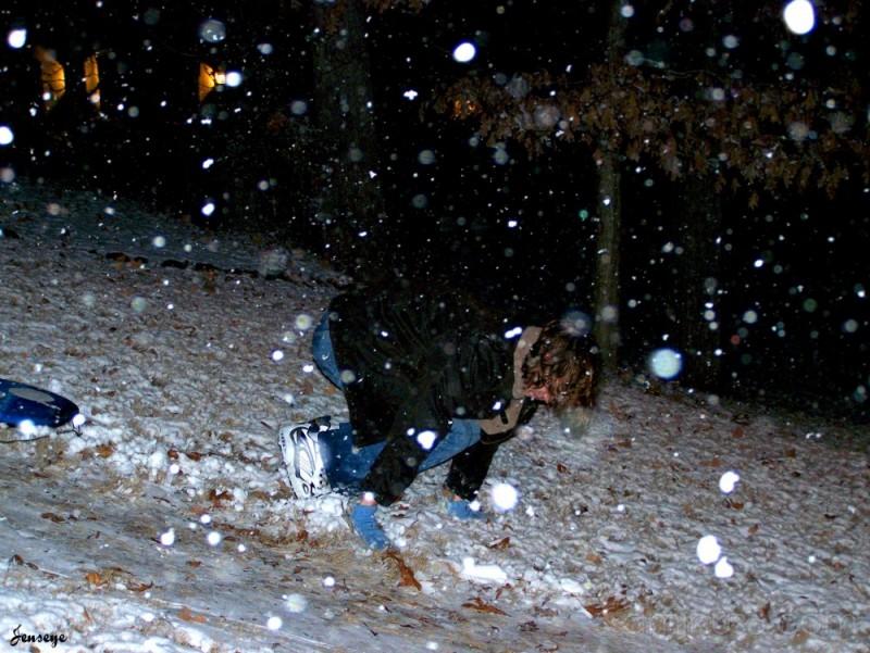 Snow boogie oops
