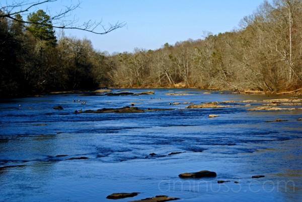 Chattahoochee River Roswell Georgia