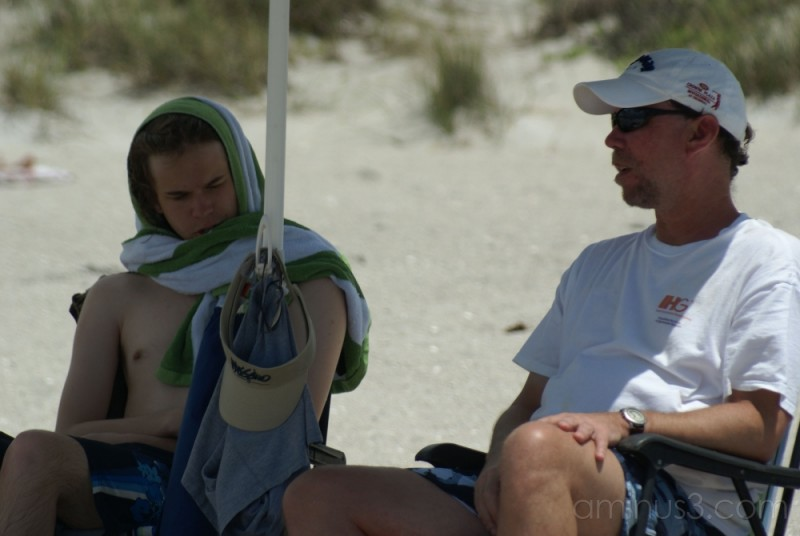Father and Son Beach