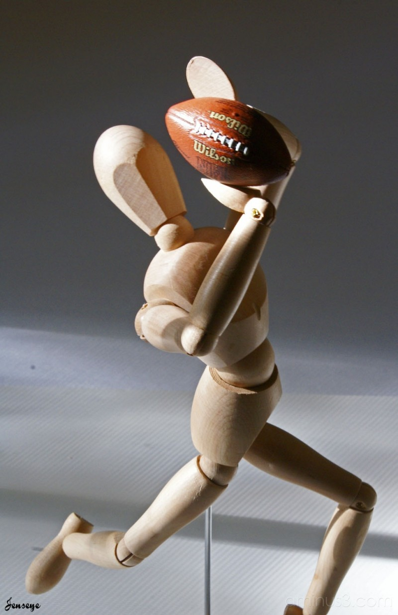 Drawing Statue football