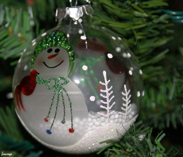 Snowman Ornament 2008