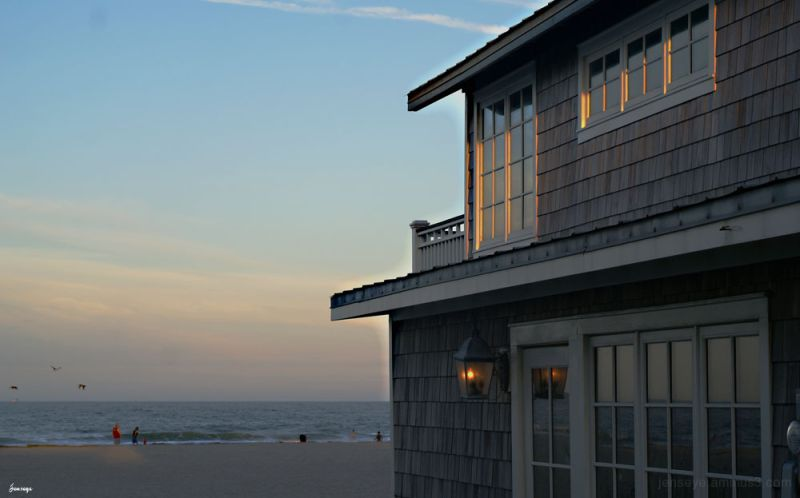 Tybee Cottage at Dusk