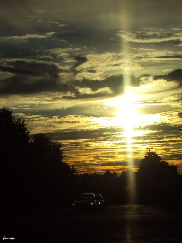 Commute Car Sunrise Suwanee Georgia