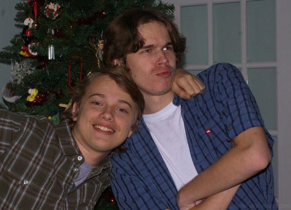 Portraits Teenagers Christmas