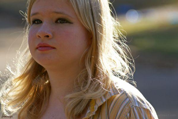 People Portraits Teenager Girl Blonde