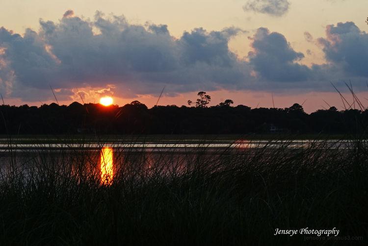 Landscape Sunset Marsh St Simons Island