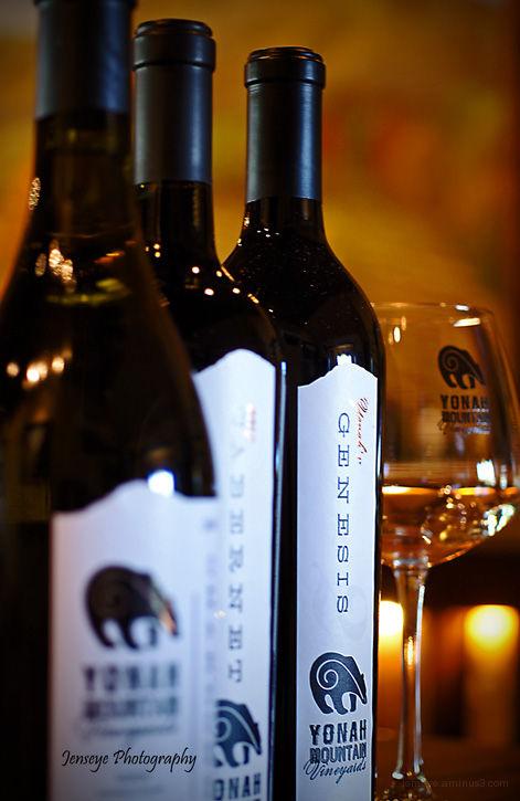 Business Yonah Mountain Vineyards Wines Glass