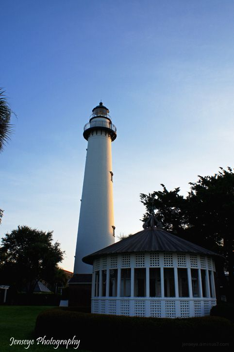St Simons Island Lighthouse Georgia