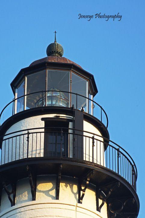 St Simons Lighthouse Light Georgia