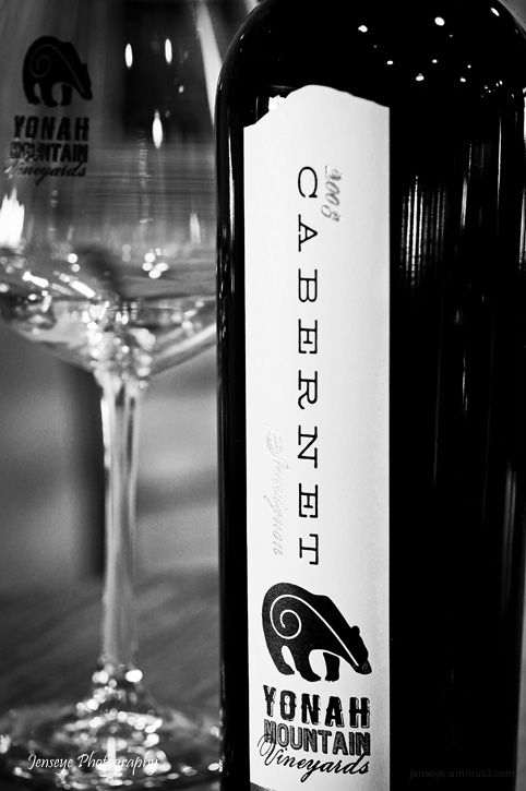 Business Yonah Mountain Vineyards Black White