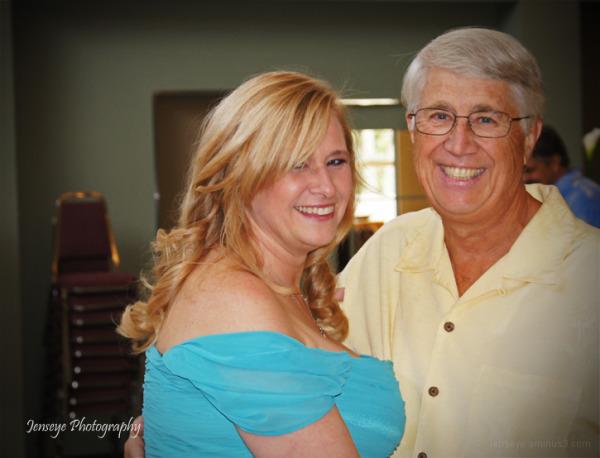 Portrait Father Daughter Wedding