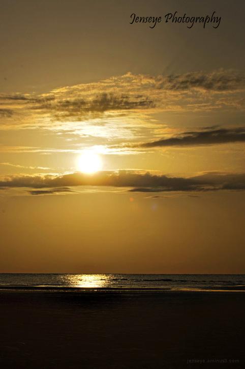 Landscape Sunrise Beach Morning