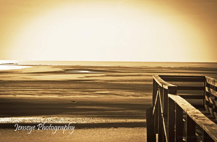 Landscape Goulds Inlet Pier St Simons GA
