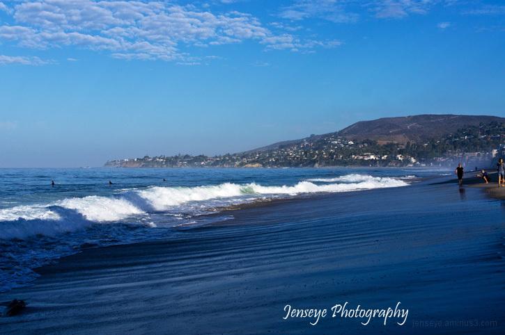 Laguna Beach California Landscape Sand Surf Sky