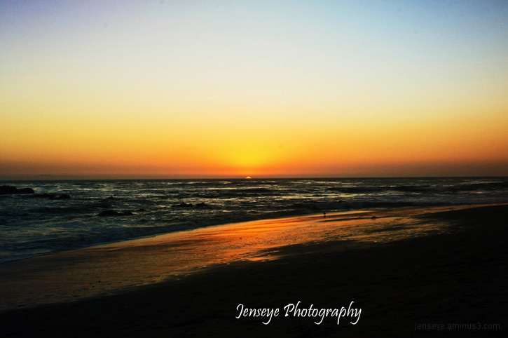 Languna Beach California Sunset Landscape Beach