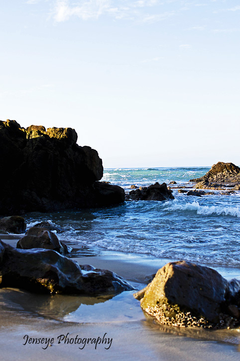 Laguna Beach Landscape Rocks Water CA
