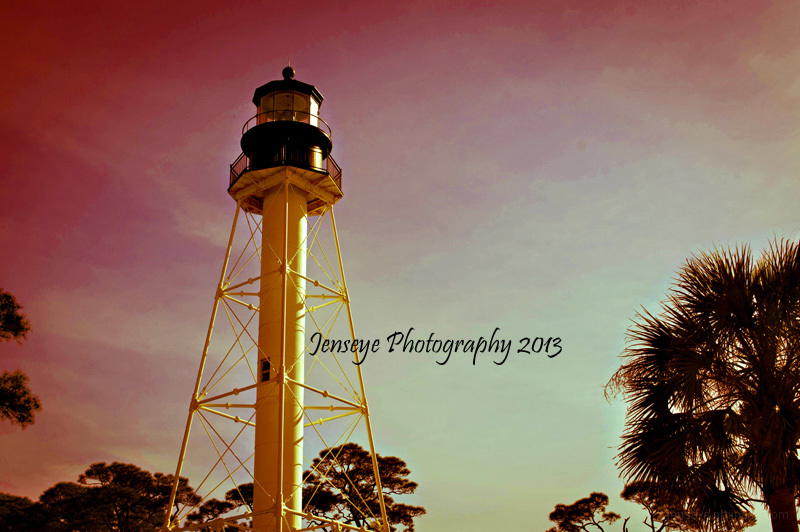 Architecture Lighthouse Florida Cap San Blas