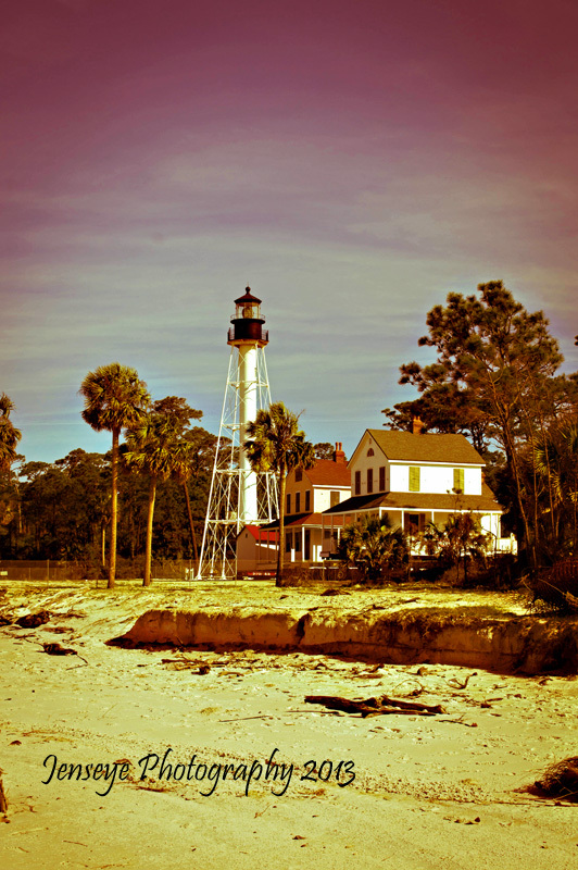 Architecture Lighthouse Florida Cap San Blas