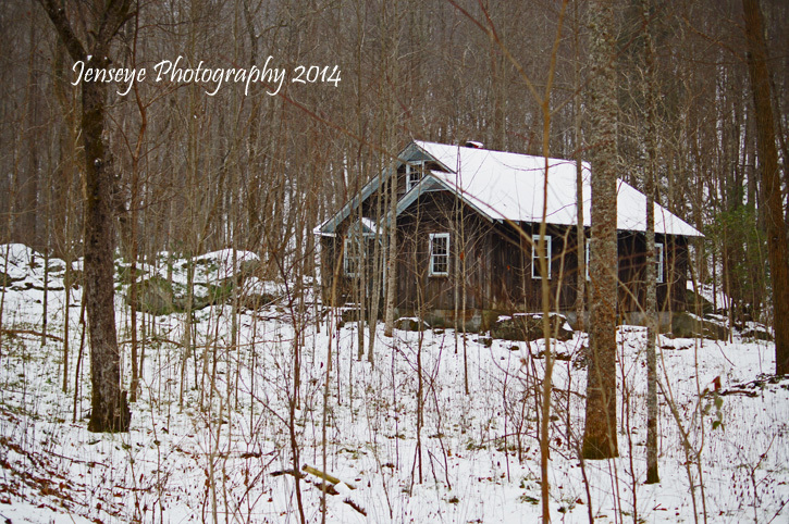Cabin Great Smoky Mountains Tennessee Jakes Creek