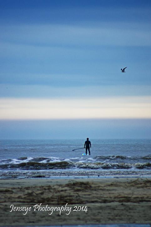SUP Surfing St Simons Island GA Beach Coast