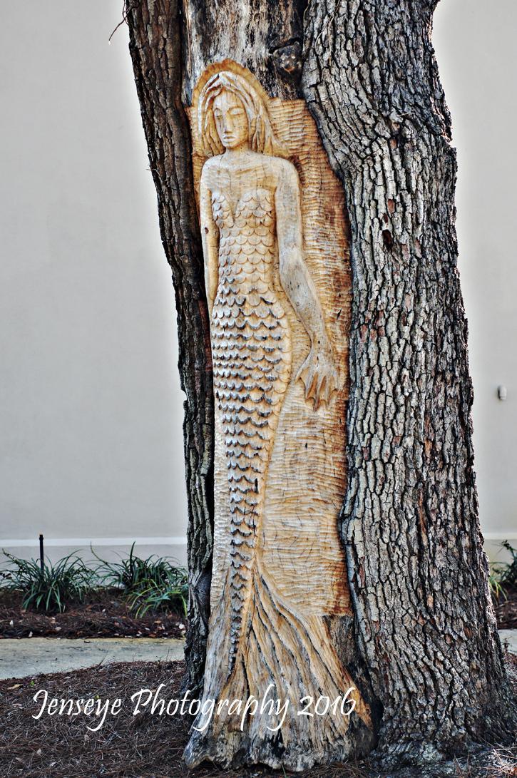 Mermaid Tree Spirit