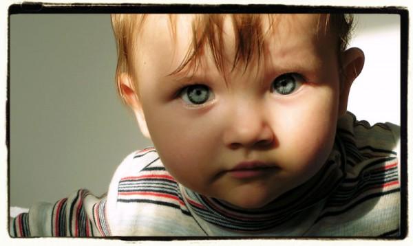 oczy portret