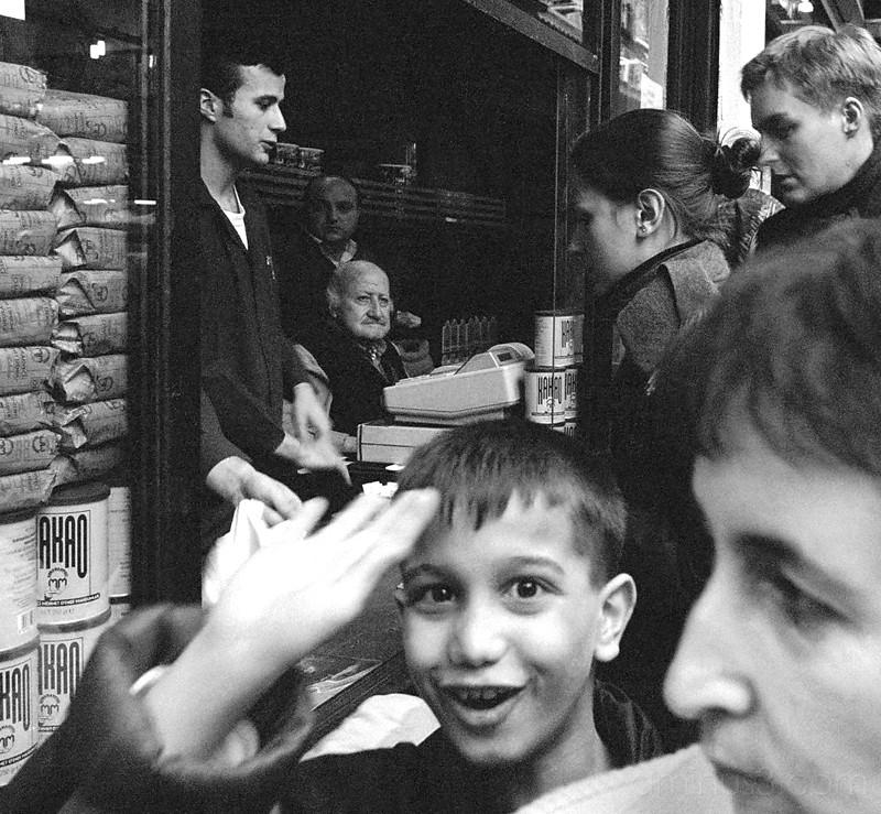 Boy in Tahtakale Market, Istanbul