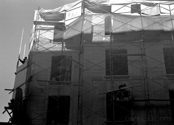 Restoration work, Eminonu, Istanbul
