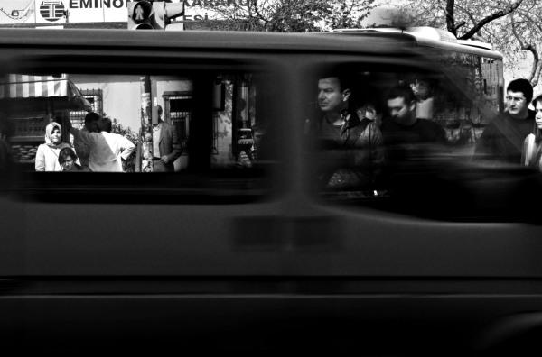 People in traffic 6