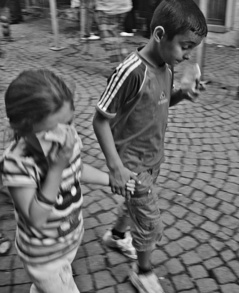 Children teargassed Taksim Gezi Park