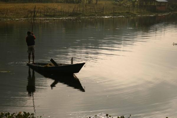 fisherman around Pokara