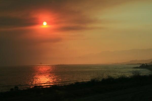 dawn sutherland, santa monica beach