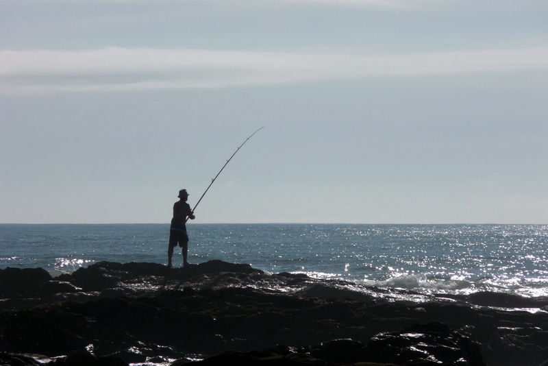 uruguay: playa y pesca