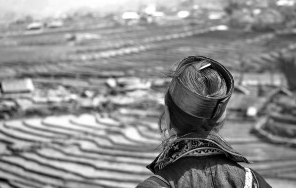 portrait de femme hmong