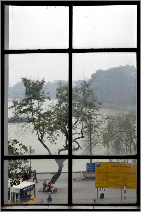 bloc-notes 9/20  - Hà Nội / fenêtre sur lac